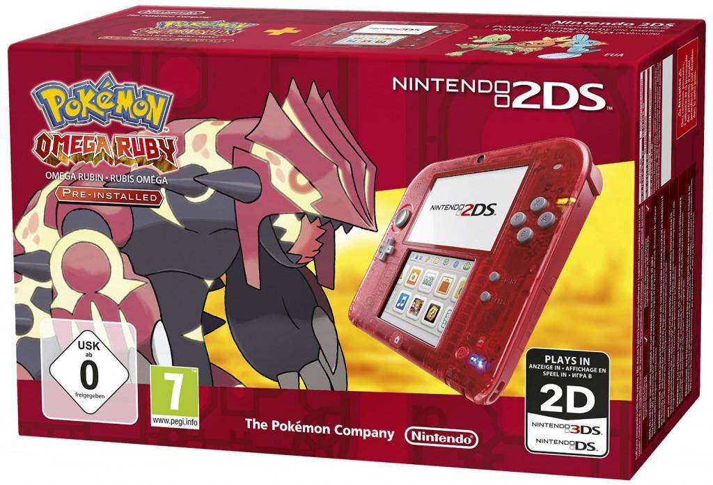 2DS Pokémon Rubis Omega